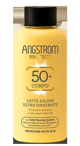 Angstrom latte solare ultra idratante protezione 50 200ml