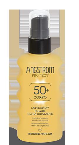 Angstrom latte spray solare ultra idratante protezione 50 175ml