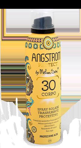 Angstrom le spray solare trasparente protettivo protezione 30