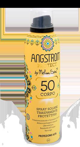 Angstrom le spray solare trasparente protettivo protezione 50