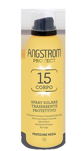 Angstrom spray solare trasparente protettivo protezione 15 150ml