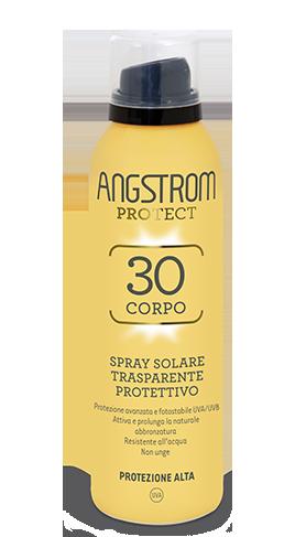 Angstrom spray solare trasparente protettivo protezione 30 150ml