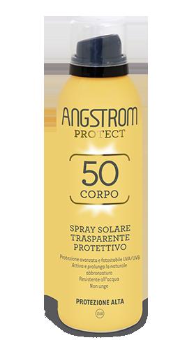 Angstrom spray solare trasparente protettivo protezione 50 150ml
