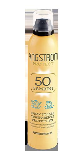 Angstrom spray solare trasparente protettivo protezione 50 250ml